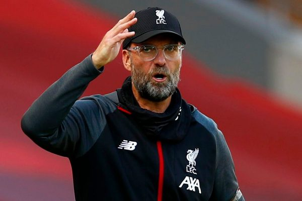 Liverpool manager Jurgen KloppThe team has several options for a right-back position in the home game against Manchester City.